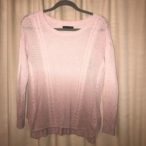 Ombré Pink XS American Eagle Sweater Top
